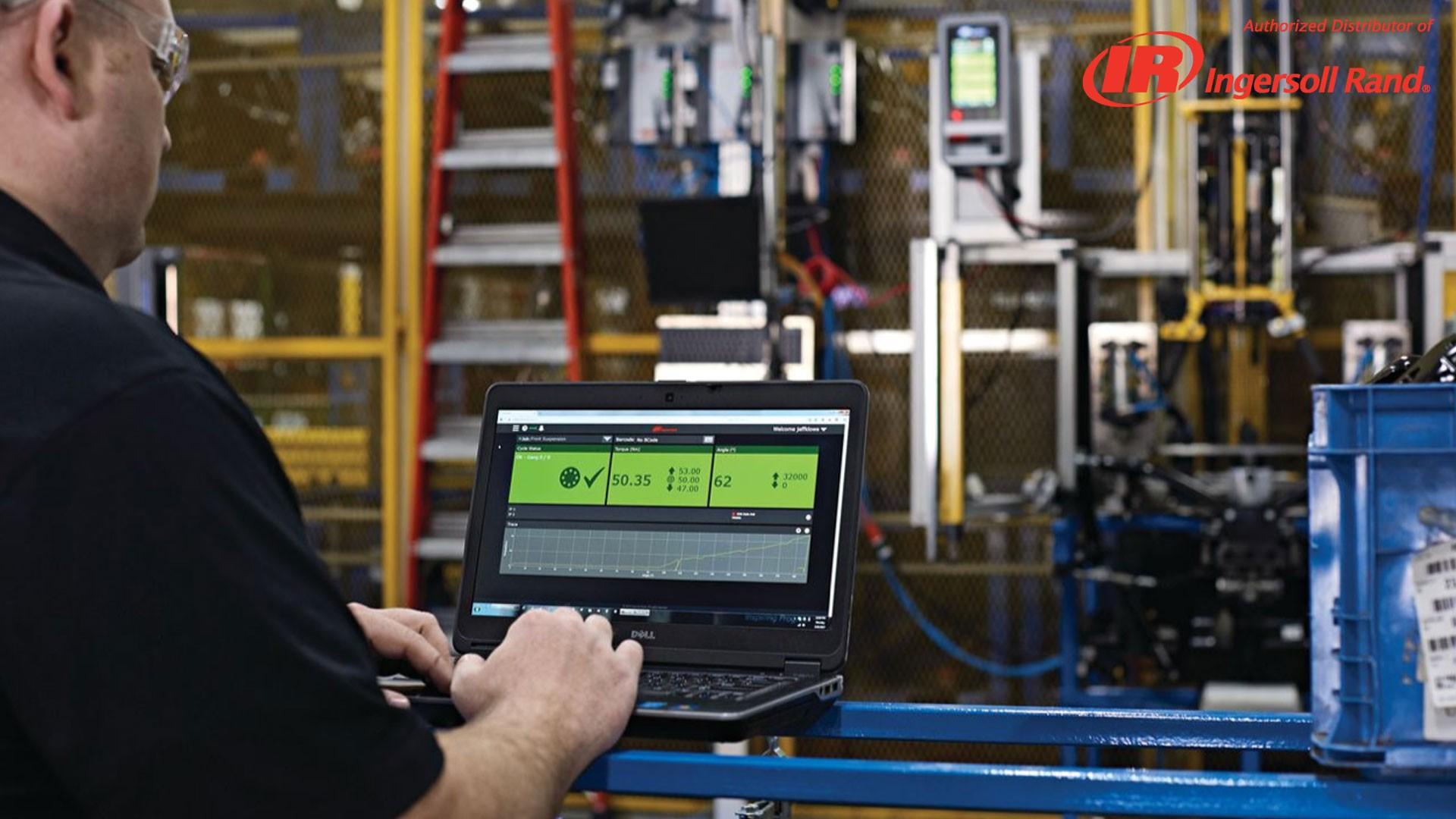 Ingersoll Rand INSIGHTqc echipamente asamblare productie ircat