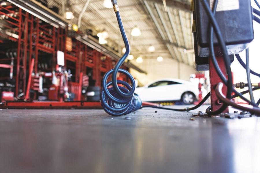 Compresor de aer Ingersoll Rand pentru service auto