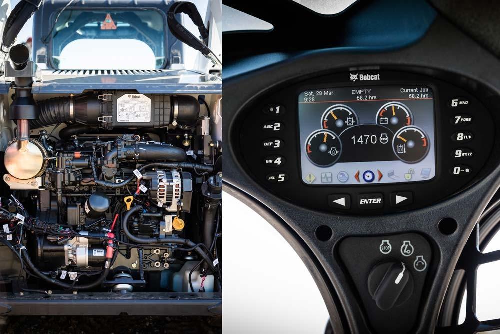 Motorul Bobcat D24 Stage 4 si Panoul de control