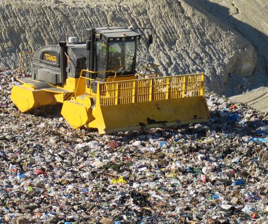 Compactoare gunoi Tana utilaje Ircat
