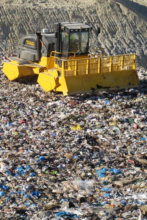 Compactor deseuri gropi de gunoi ecologice Tana Ircat