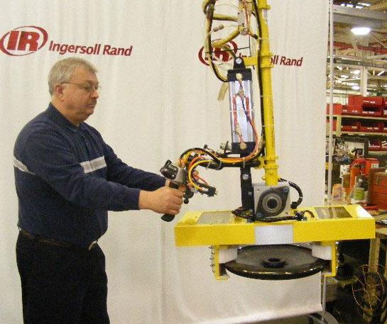 Echilibror pneumatic manipulare ingersoll rand