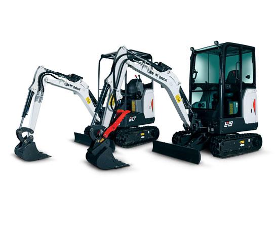 Excavator compact Bobcat E17 utilaje Ircat
