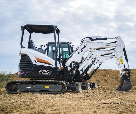 Excavator compact Bobcat E24 utilaj ircat