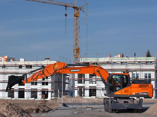 Excavator constructii Doosan Ircat