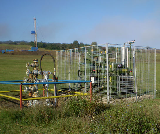 Compresor gaz cap sonda titei GasJack utilaje ircat