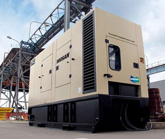 Generator curent Doosan Portable Power echipament ircat