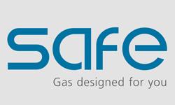 Logo statii pompare gaze naturale CNG SAFE