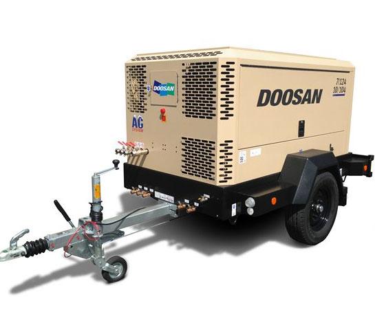 Compresor aer Doosan utilaj ircat