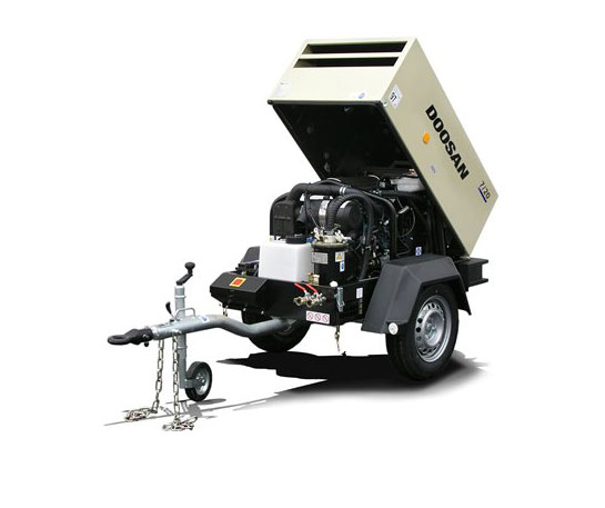 Moto compresor aer portabil Doosan echipament ircat